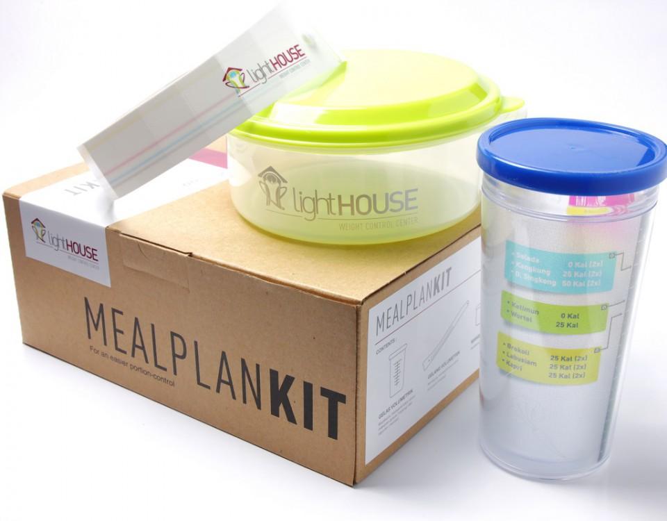 Meal Plan Kit dari lightHOUSE Bantu Kontrol Porsi Makan Dengan Mudah