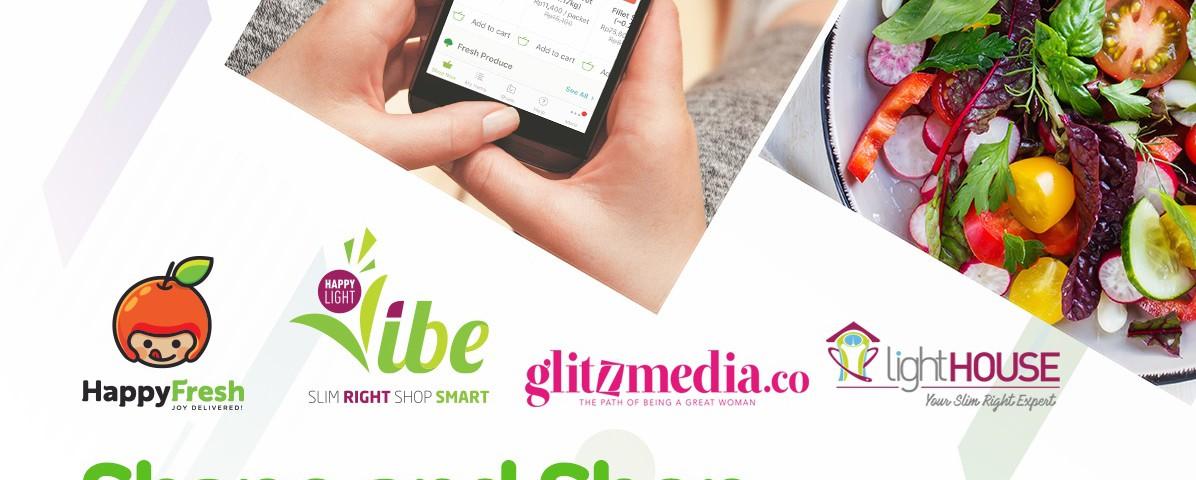 Shape and Shop: lightHOUSE Indonesia dan HappyFresh Instagram Foto Contest