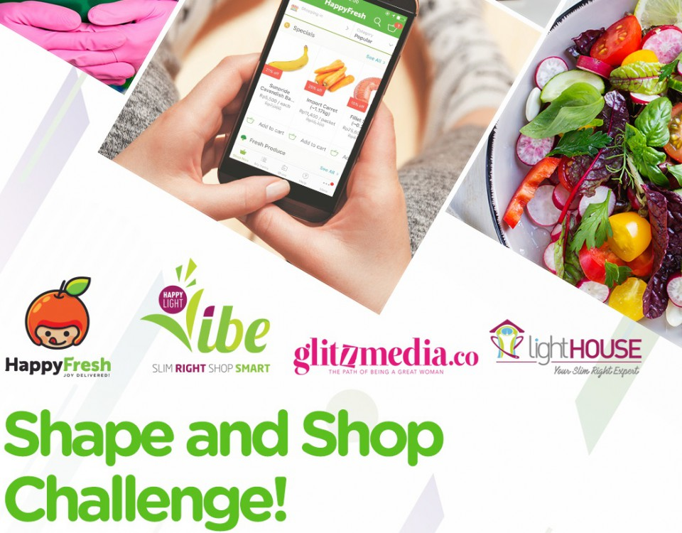 Shape and Shop: lightHOUSE Indonesia dan HappyFresh Instagram Foto Contest