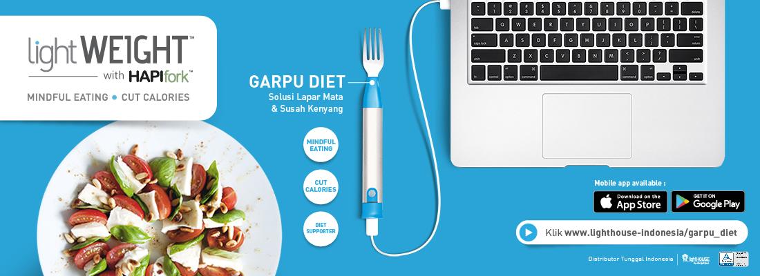 Garpu Diet Untuk Hasil Maksimal
